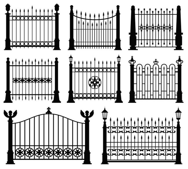Fence Design by A-1 Fence Inc in San Jose