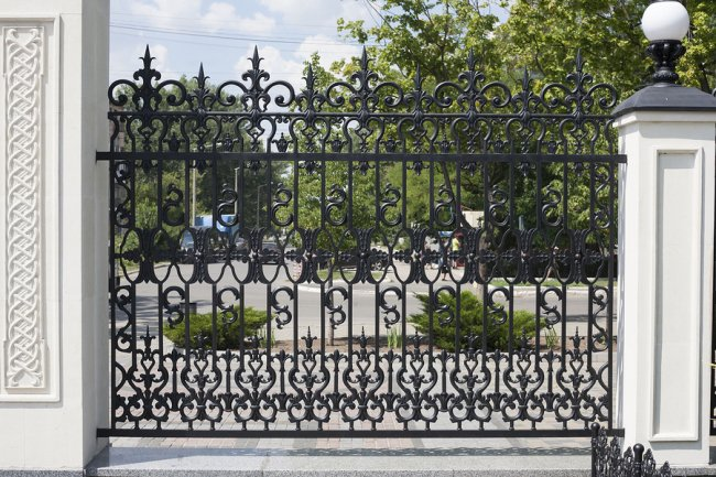 Iron Gates by A-1 Fence Inc