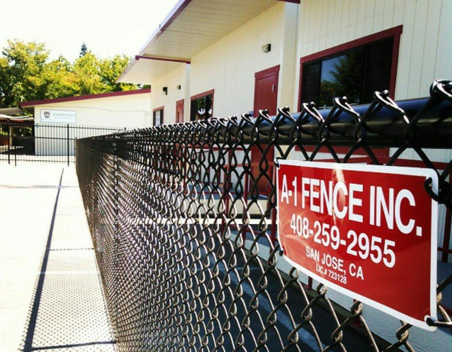 San Jose Chain Link Fences | Bay Area | A-1 Fence Inc