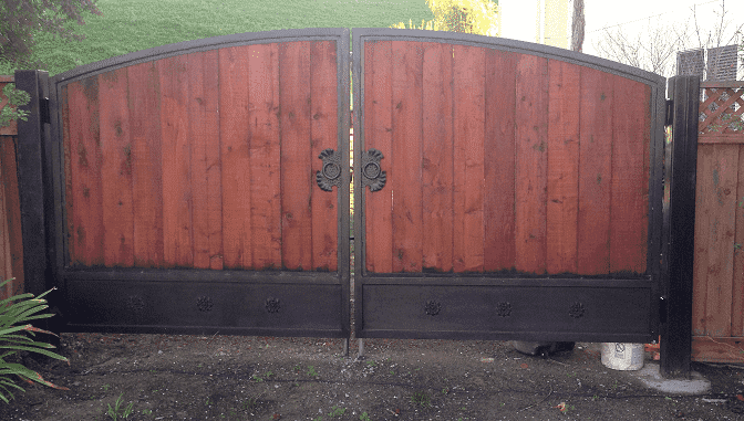 Ornamental Iron Fence by A-1 Fence Inc in San Jose