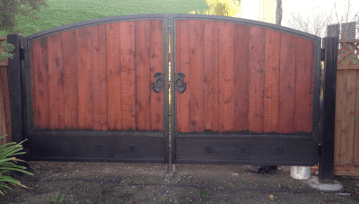 Custom Ornamental Wrought Iron Fences by A-1 Fence Inc in San Jose
