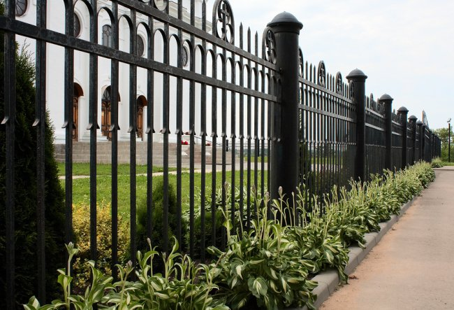 Ornamental Iron Fence in San Jose