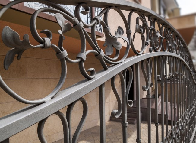 Wrought Iron Fence in San Jose