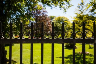 Wrought Iron Fencing for Garden in San Jose