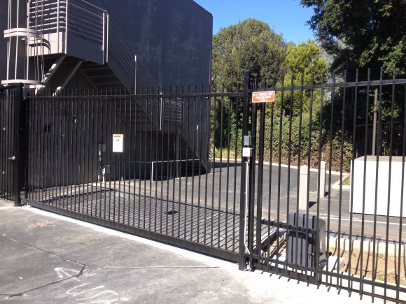 Sliding Automatic Gate by A-1 Fence Inc in San Jose